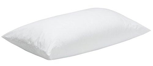 Pikolin Home - Almohada de fibra infantil para cuna con funda de algodón antiácaros de firmeza baja que puede usarse...