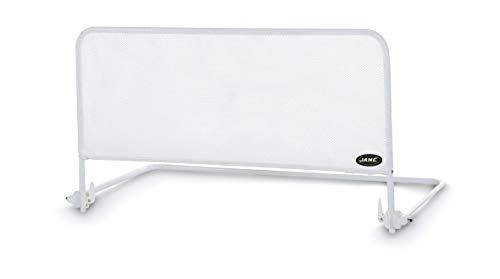 Jané Barrera de Cama Abatible en Color Blanco, Largo 90 Cm