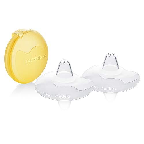 Medela - Protectores de pezones con estuche (24 mm, tamaño grande)