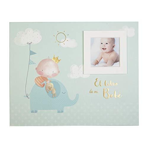 Busquets Libro de mi bebé Elefante paspartú