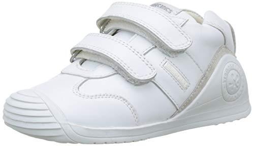 Biomecanics 151157, Zapatos de primeros pasos Unisex Bebés, Blanco (Sauvage), 21 EU