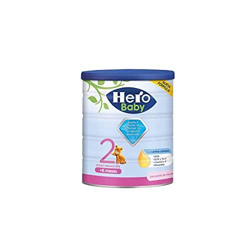 Hero Baby Leche 2 -Para niños de hasta 12 meses- 800gr