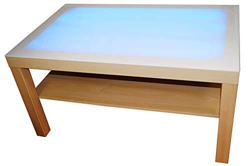 HenBea - Juguete educativo Mi mesa de luz, color beige (1000) , color/modelo surtido