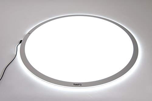 TickiT 73052 Panel de luz redondo, grande, 700 mm de diámetro