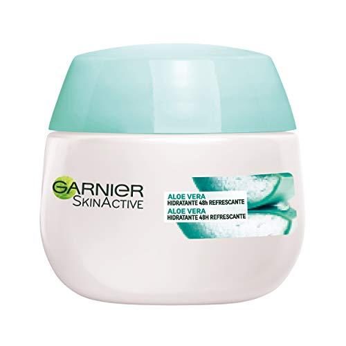 Garnier Skin Active Gama Botánica Gel Hidratante Refrescante con Savia de Aloe para Piel Normal - 50 ml
