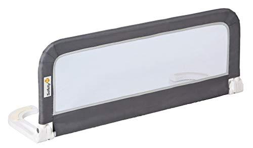 Safety 1st Barrera de cama portátil y extensible, Barandilla cama plegable de viaje, barrera de cama con protección...