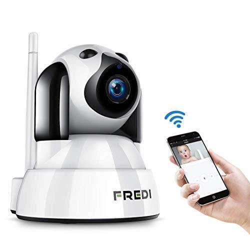 FREDI Baby Monitor IP WiFi P2P Cámara de Vigilancia/Seguridad Inalámbrica HD 720P Camara de Vigilabebes, IR Vision...