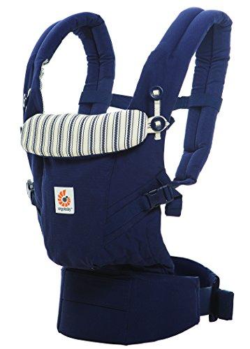 Ergobaby Mochila Portabebé Ergonomica para Recién Nacido, Adapt 3-Posiciones Admiral Azul