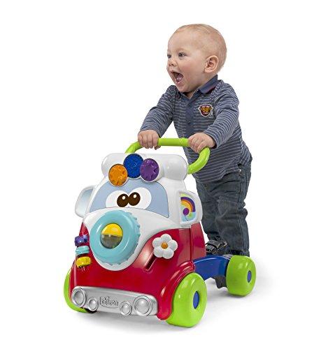 Chicco Happy Hippie, Andador Bebé Primeros Pasos 2 en 1 con Centro de Actividades, Correpasillos Bebé con Forma de...