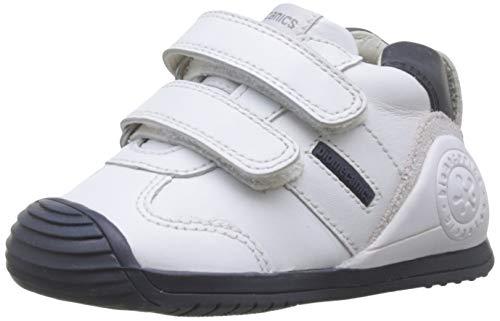 Biomecanics 151157-1, Zapatillas de Estar por casa Unisex niños, Blanco (Blanco Y Azul (Sauvage) F), 20 EU
