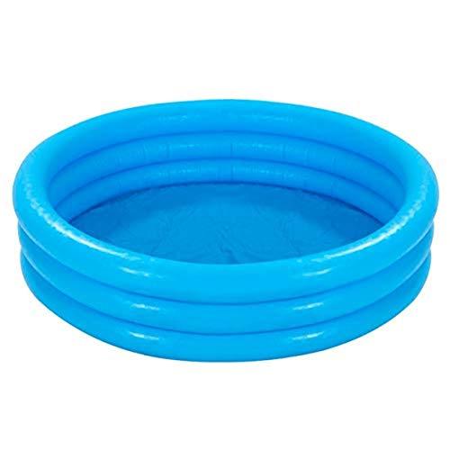 Intex 59416NP - Piscina hinchable 3 aros azul, 114 x 25 cm, 132 litros