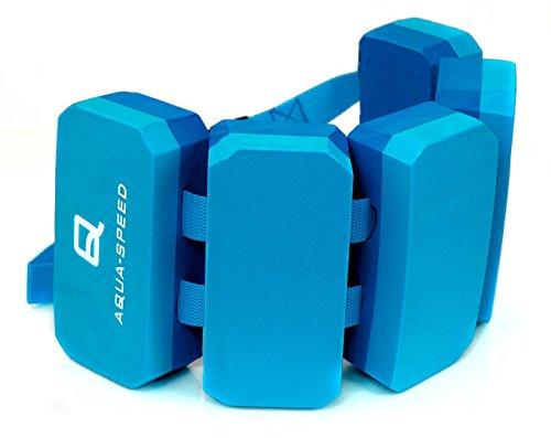 Aqua Speed Kieddie Cinturón de natación para niños | 6 Piezas | tamaño Ajustable | Ayuda a la flotabilidad | Apoyo |...