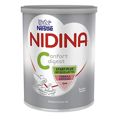 Nestlé Nidina Confort Digest 1 Leche para Lactantes en Polvo, Fórmula para Bebés Desde El Primer Día, 800g