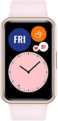 """HUAWEI Watch FIT - Smartwatch con Cuerpo de Metal, Pantalla AMOLED de 1,64"""", hasta 10 días de batería, 96 Modos de..."""