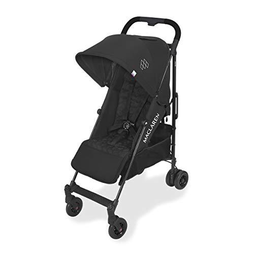 Maclaren Quest Arc silla de paseo tipo paraguas compacto y ligero, Para niños de recién nacidos hasta 25 kg, capota...