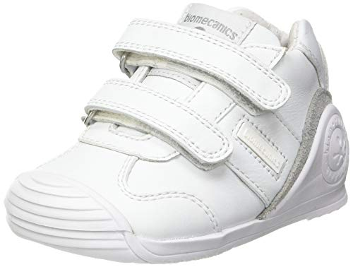 Biomecanics 151157, Zapatillas Unisex niños, Blanco (Super Soft), 20 EU