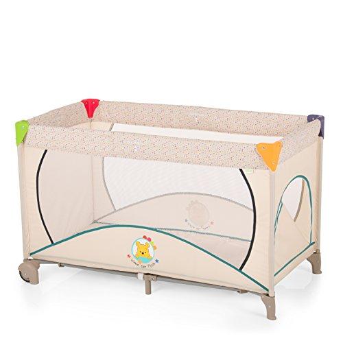 Hauck Disney Cuna de Viaje Dream N Play Go Plus, Bebes y Niños de Nacimiento hasta 15 kg, 120 x 60 cm, Ruedas, Entrada...