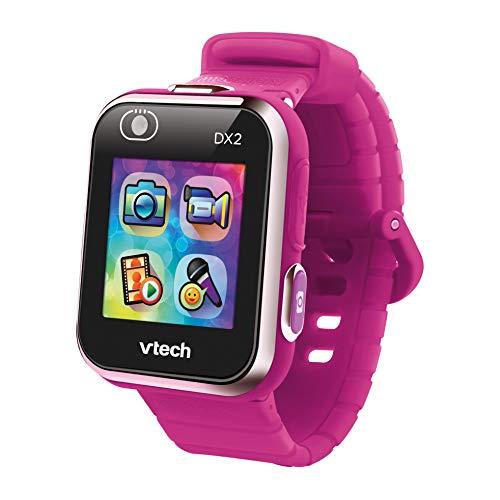 VTech- Kidizoom Smart Watch DX2 para Niños, Color rosa (frambuesa) (80-193847)