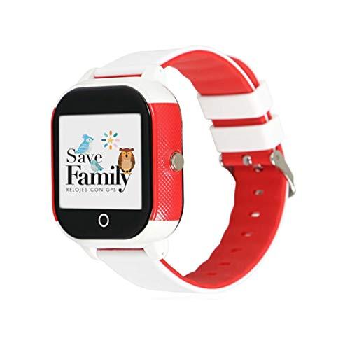 Reloj con GPS para niños Save Family Modelo Junior Acuático IP67. Smartwatch Juvenil. Botón SOS, Anti-Bullying, Chat...