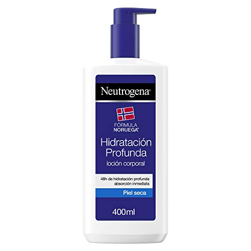 Neutrogena Loción Corporal Hidratación Profunda, Piel Seca, 400 ml