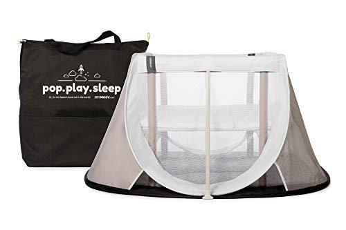 Cuna de Viaje para bebé Aeromoov plegable e instantánea con colchón configurable a dos alturas y bolsa de transporte...