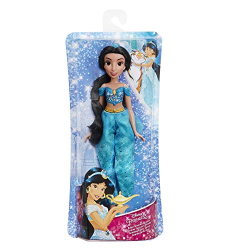 Disney Princess Princess Brillo Real Jasmine (Hasbro E4163ES2) , Color/Modelo Surtido
