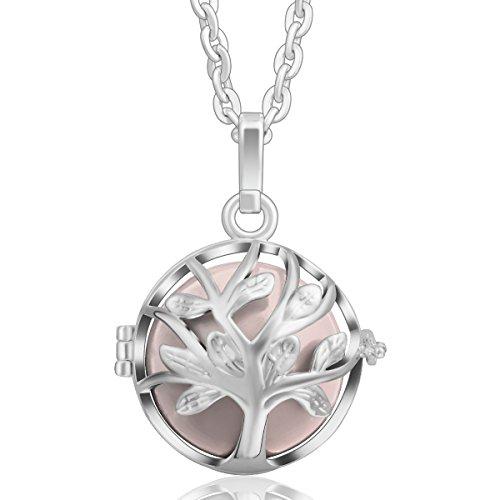 Eudora Harmony Ball Colgante el árbol de la vida, llamador de angeles embarazada, Collar Música Timbre Bell Mujeres...