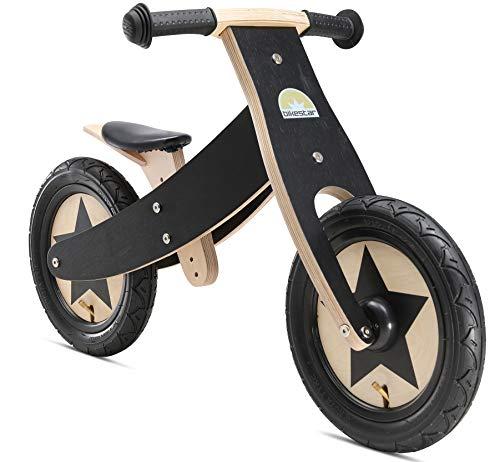 BIKESTAR Bicicleta sin Pedales para niños y niñas | Bici Madera 12 Pulgadas a Partir de 3-4 años | 12' Edición Marco...