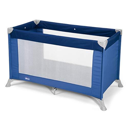 Chicco Goodnight Cuna de viaje ligera, con cierre de paraguas, 8 kg, color azul (Blue)