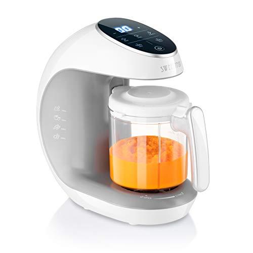 Robot de cocina Multifuncion - Multifunción 7 en 1 para Bebés - Al vapor, Procesador de Alimentos, Limpieza...