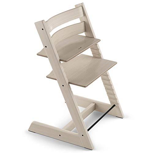 TRIPP TRAPP® Silla evolutiva de madera | Silla de altura regulable perfecta para bebés, niños y adultos | Tipo de...