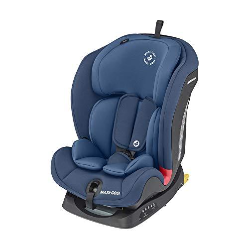 Maxi-Cosi Titan Silla Coche bebé grupo 1/2/3 isofix, 9 - 36 kg, silla auto bebé reclinable, crece con el niño desde 9...