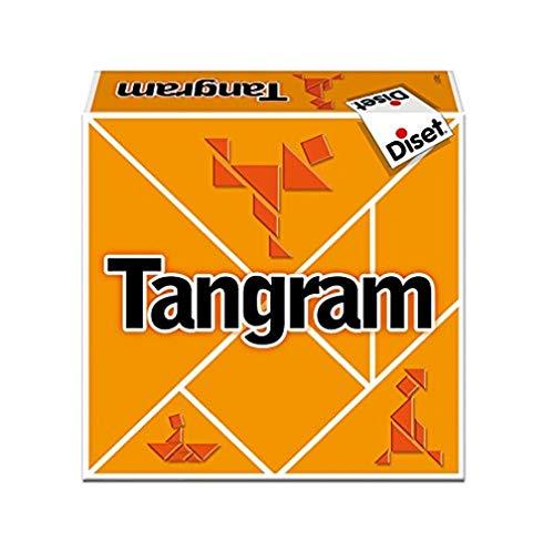 Diset- Tangram Juego de Mesa, Multicolor (76511)