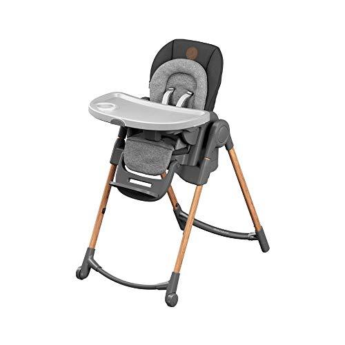 Maxi-Cosi Minla trona Evolutiva, reclinable y plegable, 6 en 1 trona convertible, silla para niños, trona portátil de...