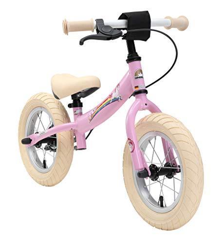 BIKESTAR Bicicleta sin Pedales para niños y niñas | Bici 12 Pulgadas a Partir de 3-4 años con Freno | 12' Edición...