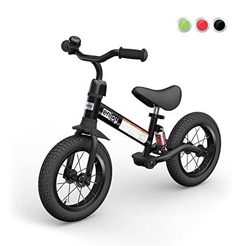 besrey Bicicleta sin Pedales Bicicleta niño 3-5 Años Rueda de Goma Inflable Bicicleta Sin Pedales con Amortiguador...