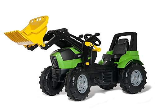 Schneider Novus 710034 - Tractor a pedales (146 cm, con pala), color verde , color/modelo surtido