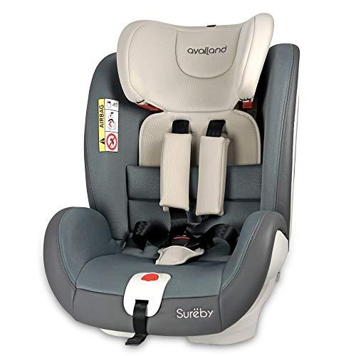 Availand Sureby silla coche bebé: Grupo 0+/1/2/3 Rotación 360° Isofix