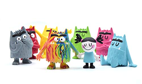 The Colour Monster figurines collection