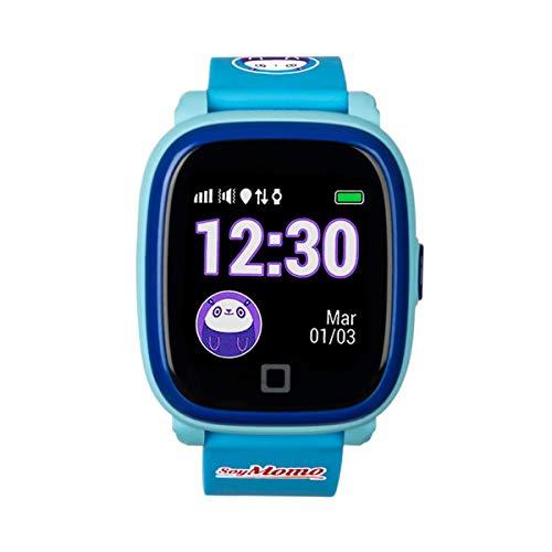 SoyMomo H2O - Reloj con GPS para niños - Reloj teléfono para niños - Smartwatch niños GPS Resistente al Agua IP67...