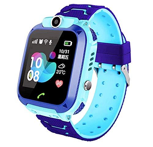 linyingdian Smartwatch Niños, Reloj Inteligente Niña IP67, LBS, Hacer Llamada, Chat de Voz, SOS, Modo de Clase, Cmara,...