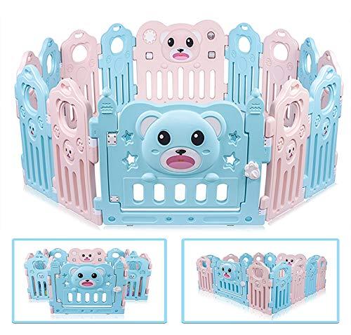 Besrey Parque de bebé XXL 14 piezas, Parque Infantil Baby Playpen Centro de actividades para niños bebe valla