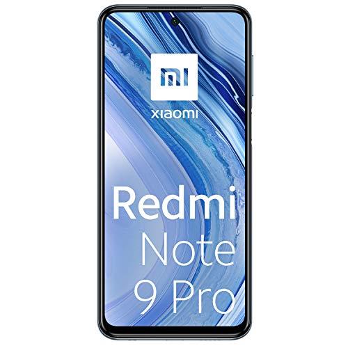 Xiaomi Redmi Note 9 Pro - Smartphone de 6.67' (DotDisplay, 6 GB RAM, 128 GB ROM, 64 MP AI Quad cámara, batería de 502...