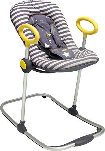 BÉABA Hamaca Bébé Up & Down I, Ajustable con una Simple Presión, 4 Alturas, 3 Inclinaciones, para Bebés y Niños,...