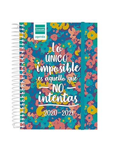 Finocam - Agenda Curso 2020-2021 Octavo- 1 Día Página Secundaria Imposible Español, 8º - 120 x 164 (mediano) - 130 x...