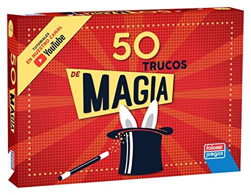 Falomir-Caja Magia 50 Trucos Juego de Mesa, multicolor, (1040)