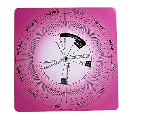 Valuemed Calculadora Obstétrica Ovulación y Calculadora de Embarazo Rueda, Enfermeras, Midwifery