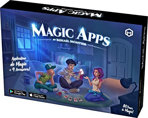 Mikael Montier - Juego de Magia Digital (80 Trucos de Magia) - Magic Apps - Caja con Aplicación Móvil (iOS y Android)...