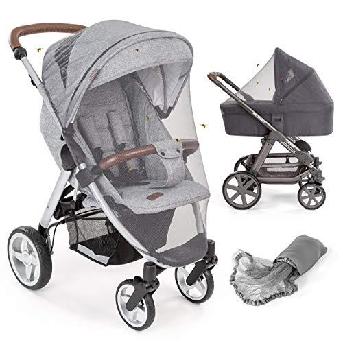 Mosquitera/Red antiinsectos universal capazo y silla de paseo | Protección contra picaduras, goma elástica,...