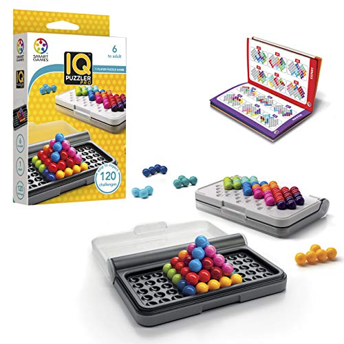 Smart Games-SG455 Iq Puzzler Pro, Miscelanea (Lúdilo SG 455)